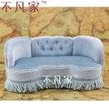 1:12 scale Dollhouse  miniature furniture sofa fabric Soft