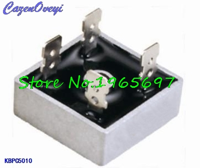 2pcs/lot KBPC5010 1000V 50A Diode Bridge In Stock