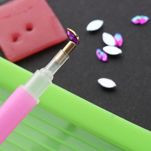 3 шт./компл. Для женщин модные аксессуары воск нажмите с силой так, ручка для дизайна ногтей Стразы Палочки ing инструментах перо пластина легко Палочки вверх Маникюр нейл-арта