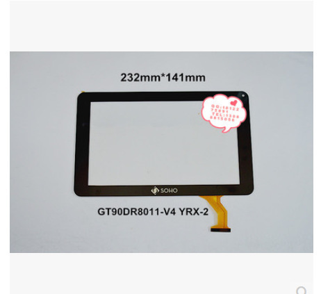Новый 9 дюймов tablet емкостной сенсорный экран GT90DR8011-V4 YRX-2 бесплатная доставка