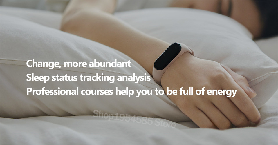 Xiaomi Mi Band 4 Smart Watch Standard Version Heart Rate Activity Fitness Tracker Smart Band Bracelet Colorful Display 2019 New (22)
