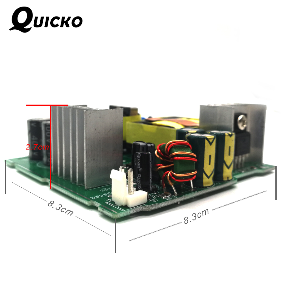 Tools : QUICKO STC T12 LED Digital Soldering Station DIY kits ABS plastic Shell new controller use for HAKKO T12 Handle vibration switch