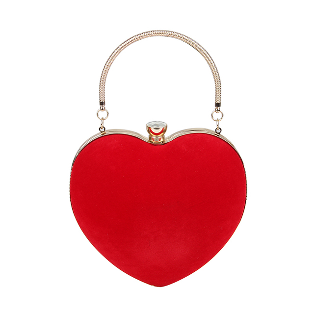 Heart Shaped Clutches Evening Bags 5