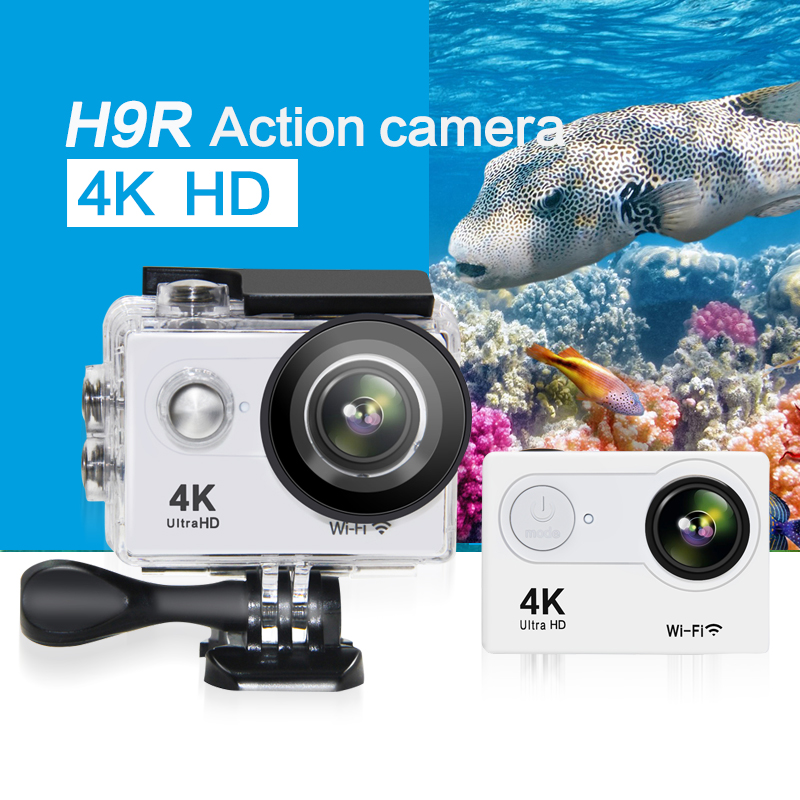 GEEKAM Original H9R remote Action camera Ultra HD 4K WiFi 1080P/60fps 170D lens Helmet Cam go waterproof pro video recorder dv 100% original eken h9r 4k ultra hd wifi action camera remote control go waterproof camera 2 0 1080p 60fps pro sportcam mini cam