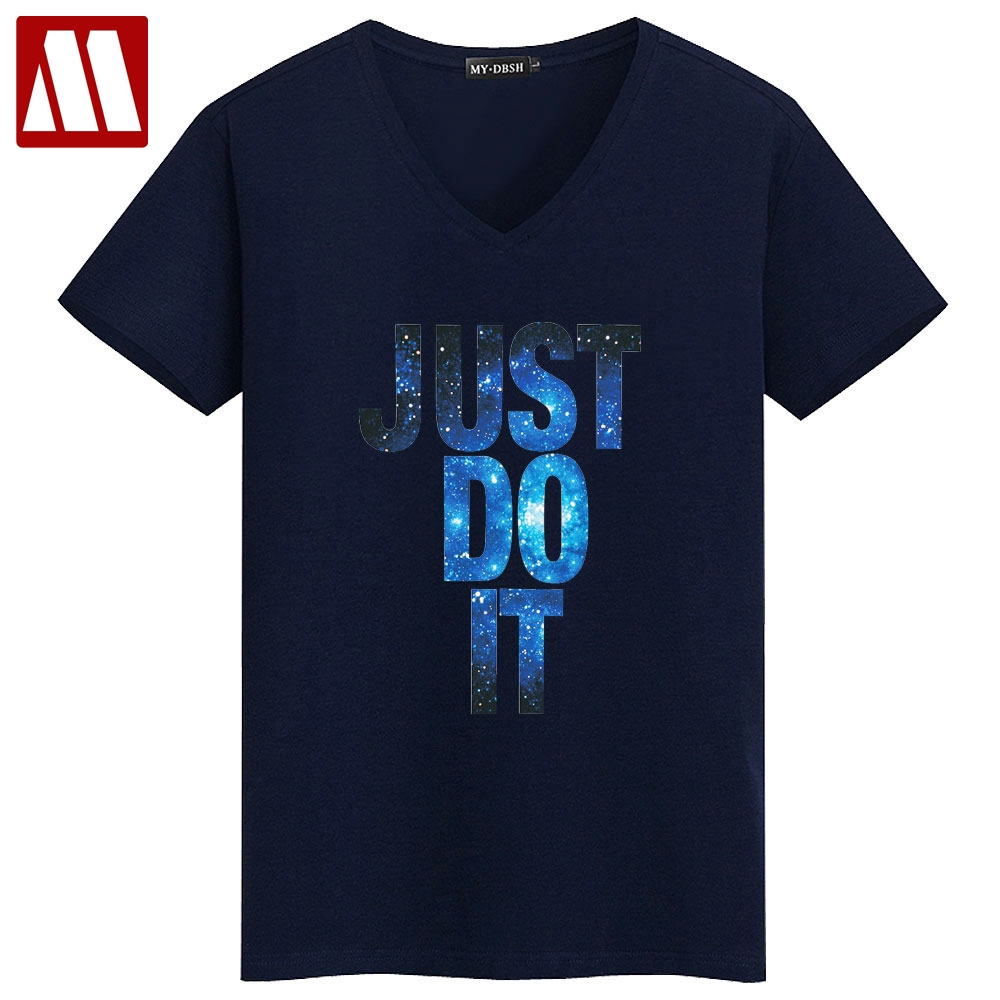 New fashion just do it t shirt brand clothing hip hop for Just hip hop t shirt