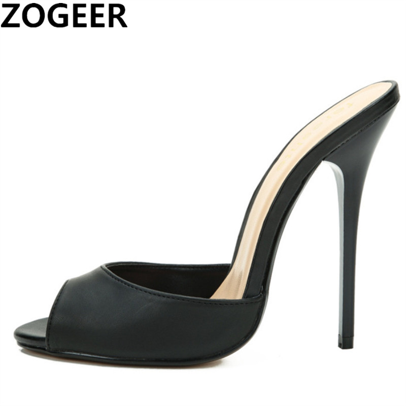 Women Slippers Female Shoes High-Heels Summer Plus-Size Casual Fashion 50 Popular Pumps