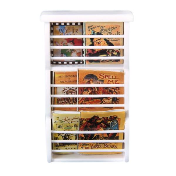 1/12 Dollhouse Miniature Wooden Bookshelf Book Magazine Rack White 1:12  Doll House - Online Get Cheap 12 Bookshelf -Aliexpress.com Alibaba Group