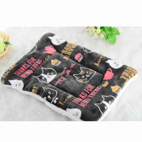 Limit 100 1Pcs Soft Dog Cat Pet Winter Warm Mats Fur Bed Pad Self Heat Rug Thermal Washable Pillow Mat Slipcover