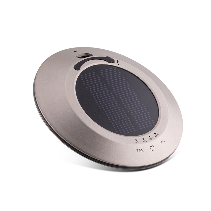 ФОТО FREE SHIPPING New Solar energy Portable Air Purifier Mini Car Air Purifier/ Car Air Purifier with HEPA Filter with metal housing
