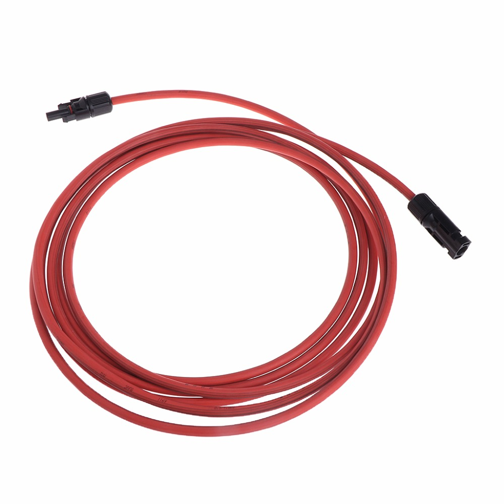 1 3 5 10m Red Mc4 Solar Panel Extension Connector 10 Awg Pv Cable Wiring Wire In Wires Cables From Lights Lighting On Alibaba Group