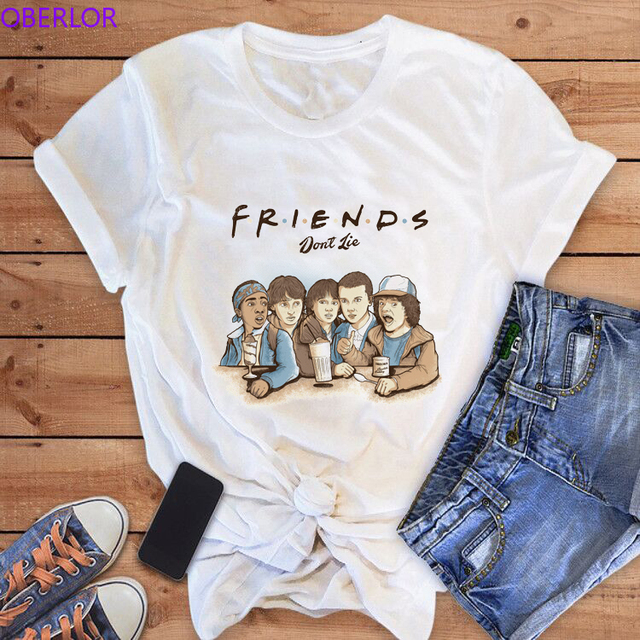 Friends Don'T Lie Print T...
