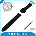 21mm 22mm 23mm 24mm de aço inoxidável pulseira de borracha de silicone assista banda para armani pré-v cinto de fivela correia de pulso pulseira