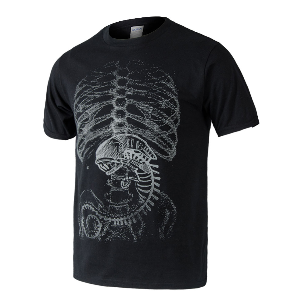 Human design t shirt - Aliexpress Com Buy Alien Vs Predator T Shirt Human Body Embryo X Ray Cotton Summer T Shirt Tee Top Black From Reliable Tee Top Suppliers On Cossmile Store