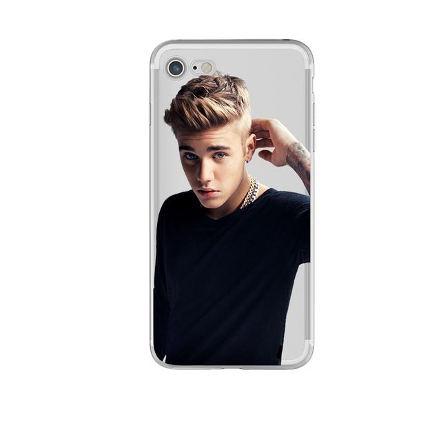 Justin Bieber Phone Case for iphone 6 6s 5 5s se 7 7plus 6splus