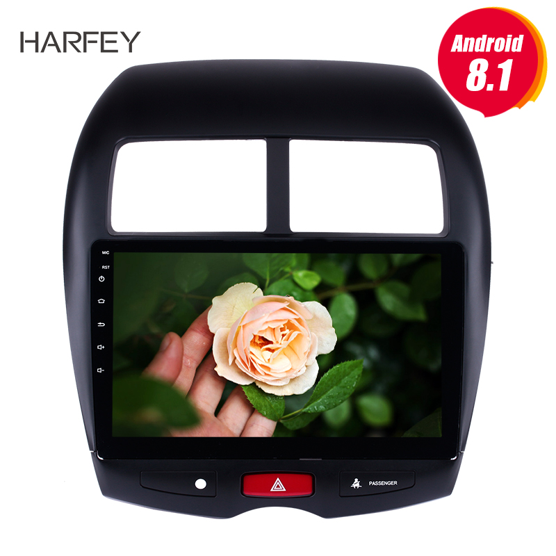 For 2010 2011-2015 Mitsubishi ASX Peugeot 4008 Harfey Car Multimedia player 2DIN Android 8.1 /7.1 GPS Navigation radio stereo