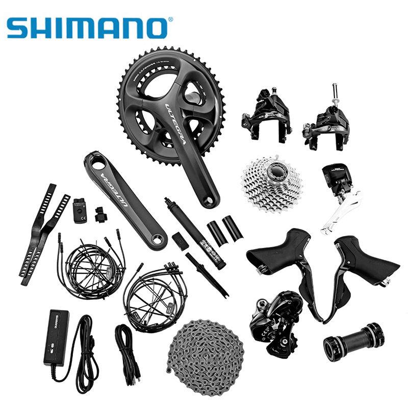 Groupe de vélo de route Shimano Ultegra Di2 6870 ensemble de groupe électronique complet de 6800