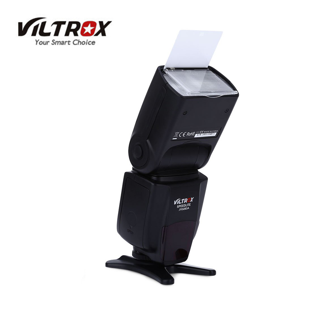 VILTROX JY-680A Universal LCD Flash Speedlight for Canon Nikon Pentax Olympus DSLR Cameras Viltrox JY680A pixel m8 wireless universal speedlight flash light gn60 for canon nikon sony pentax fujifilm lumix dslr camera vs jy680a yn560iv