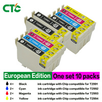 10 Compatible For Epson 29XL Ink Cartridges With Epson Expression Home XP 235 XP 245 XP