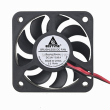 Excellent quality 10pcs/lot  GDT 24V 2pin 50mm 5010S Axial Fan x 10mm Cooler