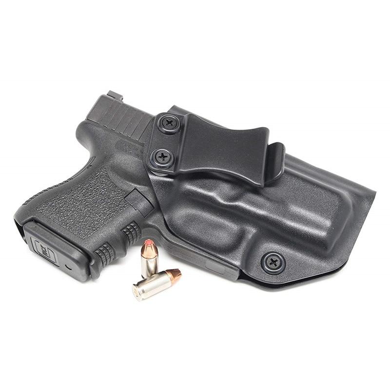 Inside The Waistband IWB Kydex Holster Custom Fit For Glock 26 27 33 Gen1-5 Concealed Carry Guns Pistol Case Kydex Belt Clip