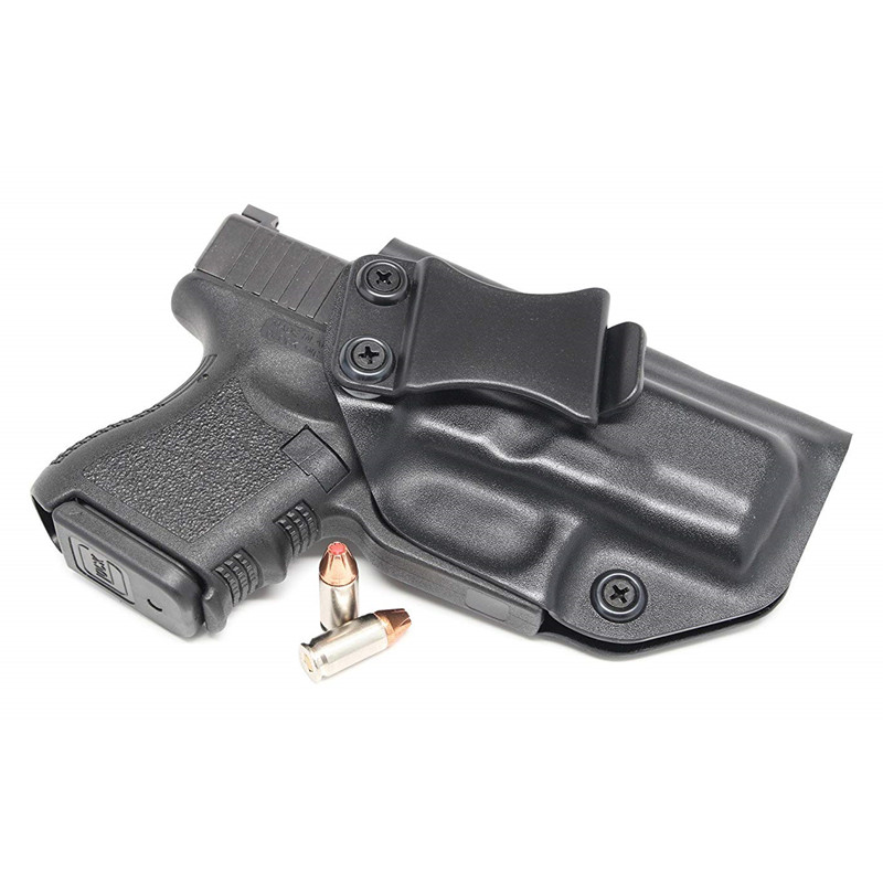Inside The Waistband IWB Kydex Holster Custom Fit For Glock 26 27 33 Gen1-5 Concealed Carry Guns Pistol Case Kydex Belt Clip