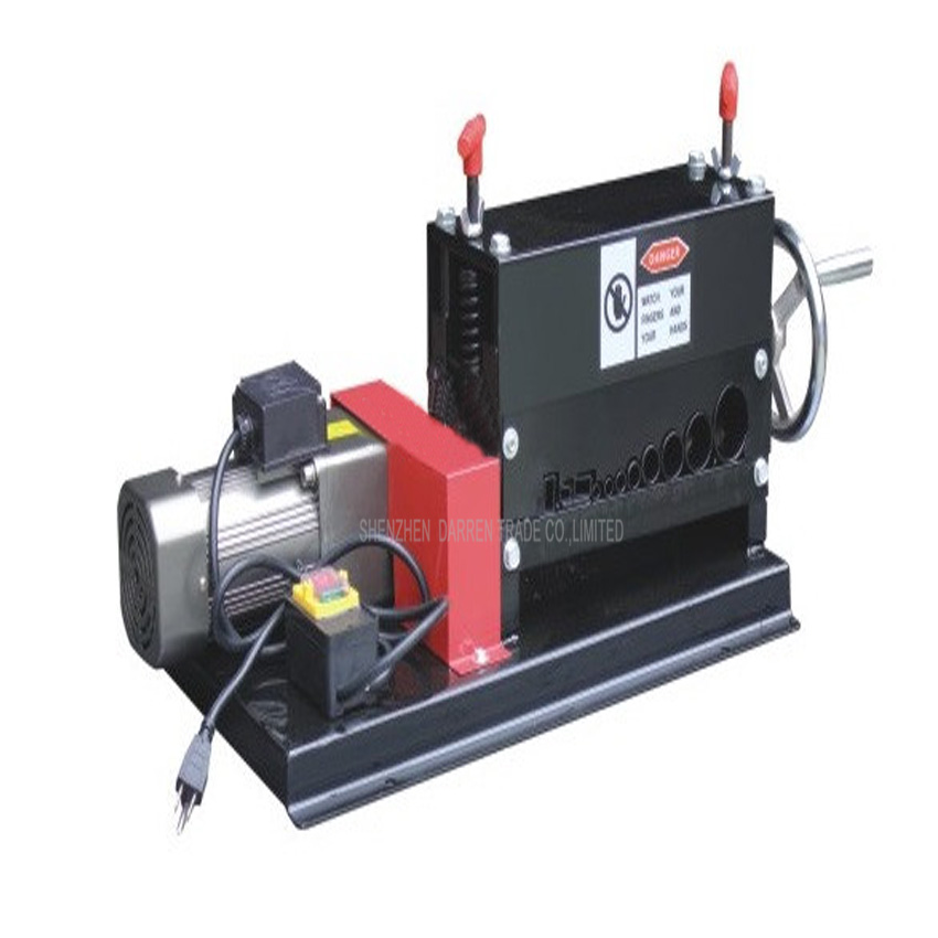 1PC  Hot sale Manual electric double with wire stripping machine Electric Scrap Cable Wire Stripping Machine dc5v 2nm multi wire control electric actuator with indicator and manual override