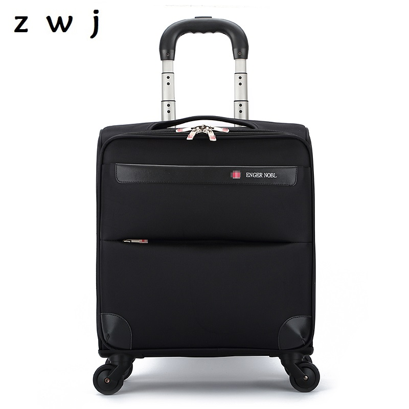 18 Inch Business Travel Bag Oxford Carry On Luggage Men