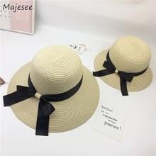 Шляпы-ведерки женские модные повседневные соломенные повседневные Элегантные женские шляпы в Корейском стиле высокого качества, новинка года