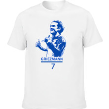 tshirt Griezmann 7 mbappe 12 team France country footballer discout hot new fashion top free shipping world 2018 champions pogb(China)