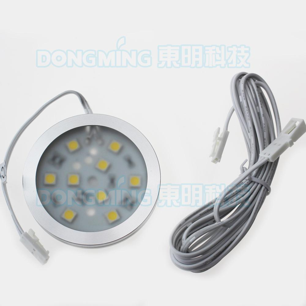 12PCS/LOT Wholesale 5050smd LED Chips Under Cabinet Light Bulb 12V 140LM high intensity wine cases/bookcases/showcases Lighting
