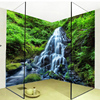 3D Wallpaper Waterfalls Forest Nature Landscape Photo Wall Sticker Mural PVC Self Adhesive Waterproof Bathroom Papel