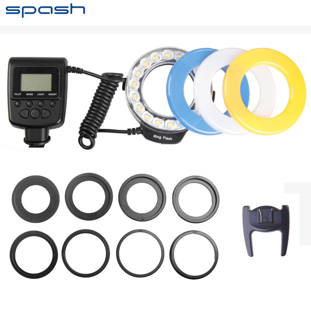 Spash RF 600D Macro Ring Flash voor Nikon Canon Olympus Sony Mi ...