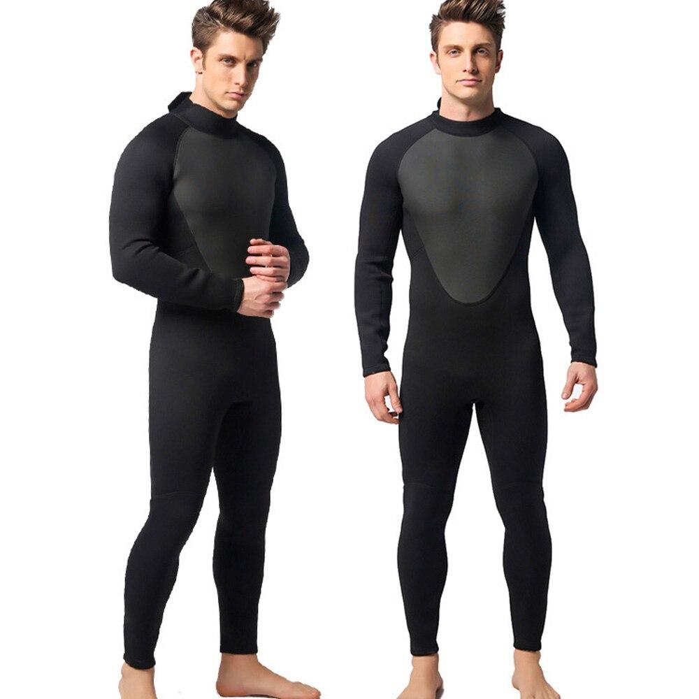 3mm Men Neoprene Dive Suit Scuba Diving Jump Surfing Warm Wetsuit S/M/L/XL/XXL