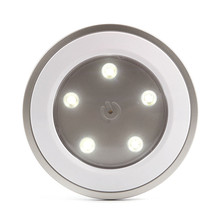 цена на Newest LED Night Light Smart Sensor Garden Wall Light 5 leds Bedroom Cupboard Corridor Night Lamp Home Holiday Decoration