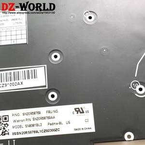 Image 2 - New Original US English Keyboard with Backlit For Thinkpad P1 X1 Extreme Laptop SN20R58769 SN20R58841 01YU756 01YU757