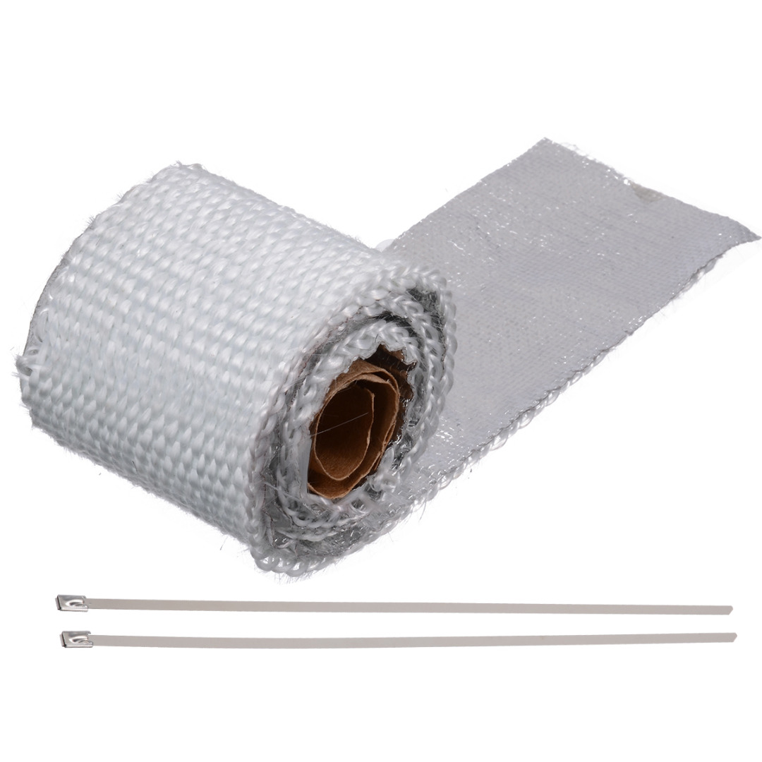 Image 5 - 50CM 1 Roll Car Motorcycle Exhaust Thermal Exhaust Tape Header Heat Wrap Resistant For Motorcycle Car Accessories-in Exhaust & Exhaust Systems from Automobiles & Motorcycles