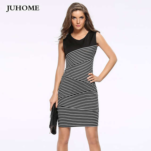 72be1d708e71 Summer sundress Women Sexy Dress 2018 Vintage European style Striped Club  Casual office Pencil Bodycon ukraine dress robe femme