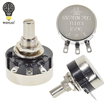 WAVGAT RV24YN20S 101 102 B103 104 105 201 202 203 204 254 302 303 501 502 503 504 5K 10K 100K 500K 200K 100 ohm Potentiometer - discount item  7% OFF Passive Components