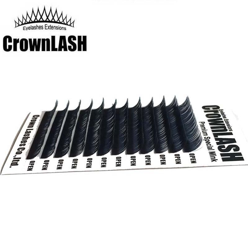 Crownlash μαύρο 9D Volume Lash Extension C, D-0.05 7-15mm - Μακιγιάζ - Φωτογραφία 2