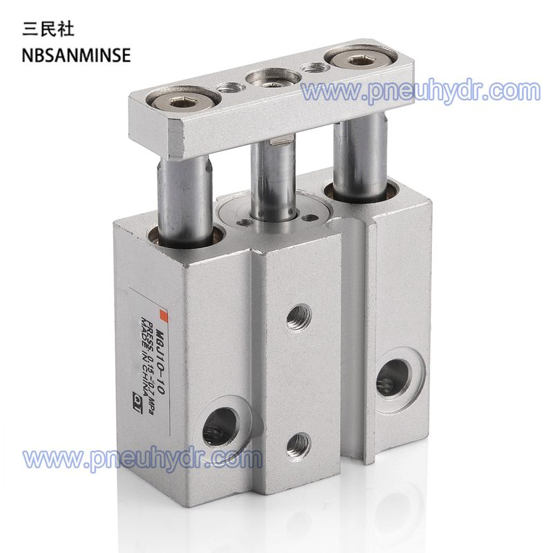 MGJ10-10 Miniature small cylinder Guide rod cylinder For SMC series