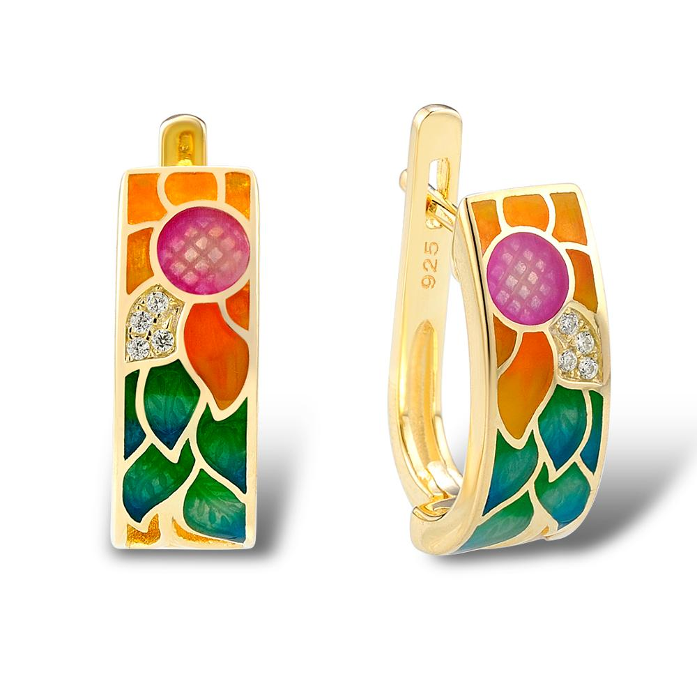 SANTUZZA ασημένια σκουλαρίκια για - Κοσμήματα μόδας - Φωτογραφία 2