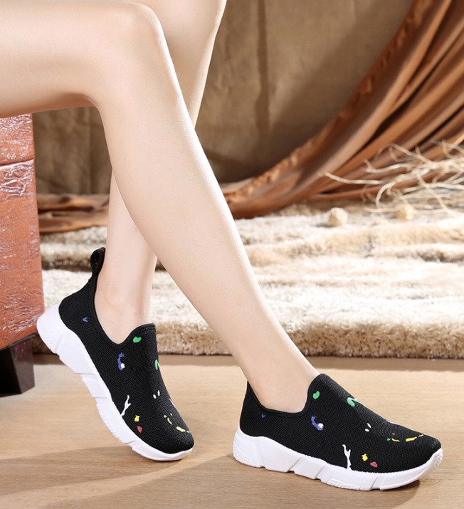BAICLOTHING zapatos mujer women fashion sport & outdoor breathable shoes cool lady spring & autumn lace up cloth shoes sapatos women cool mesh breathable shoes female sport and outdoor soft bottom shoes lady casual slip on shoes zapatos de mujer