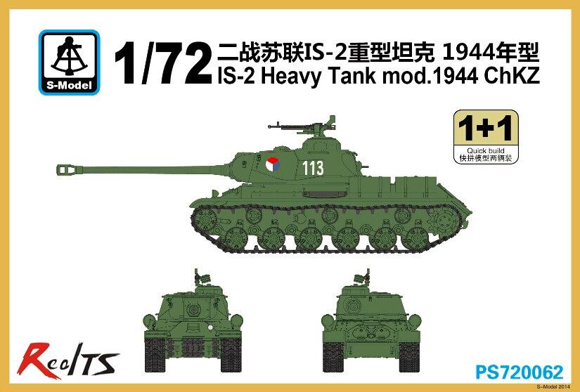 S-model PS720062 1/72 IS-2 Heavy Tank Mod.Chkz