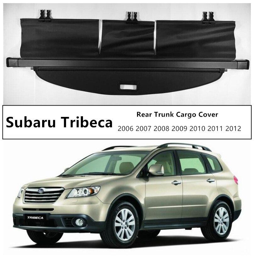 Couvercle de protection de coffre arrière pour Subaru Tribeca 2006 2007 2008 2009 2010 2011 2012 accessoires Auto de haute qualité