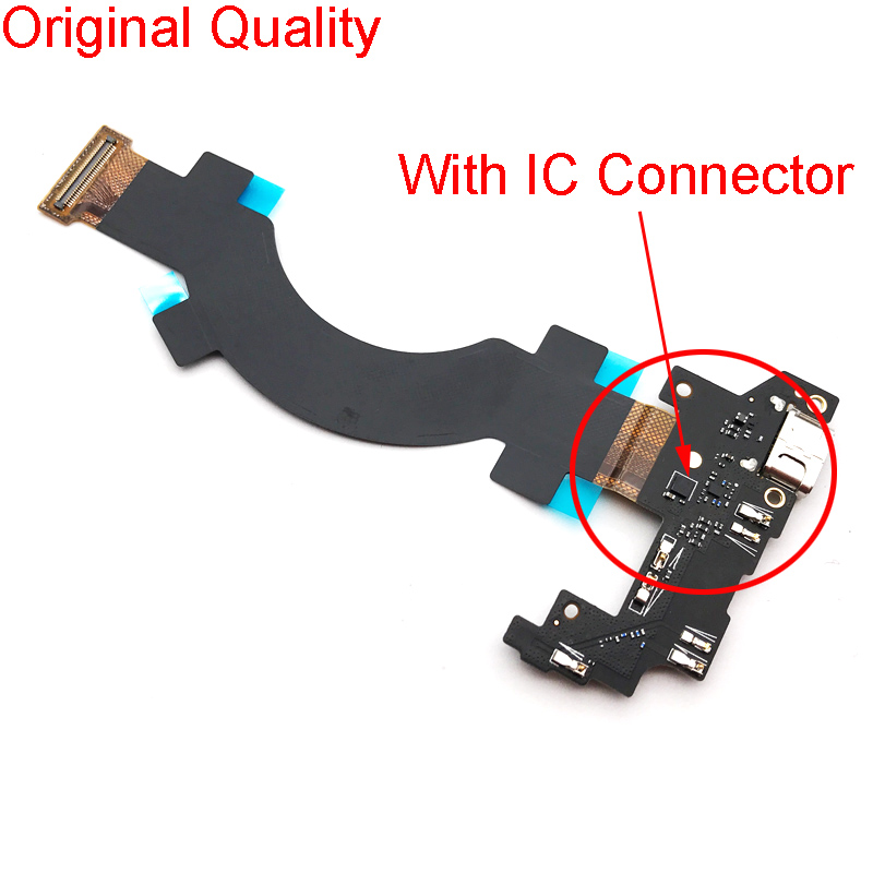 Charger Port Ribbon Replacement Parts For Letv LeEco Le Max2 Max 2 X820 USB Charging Flex Cable With Mic