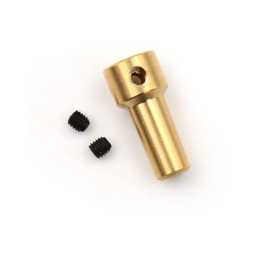 1PCS Brass Motor Shaft Clamp Electric Drill Chuck JT0 Coupling Motor Shaft Coupler Clamp 2.3mm1PCS Brass Motor Shaft Clamp Electric Drill Chuck JT0 Coupling Motor Shaft Coupler Clamp 2.3mm