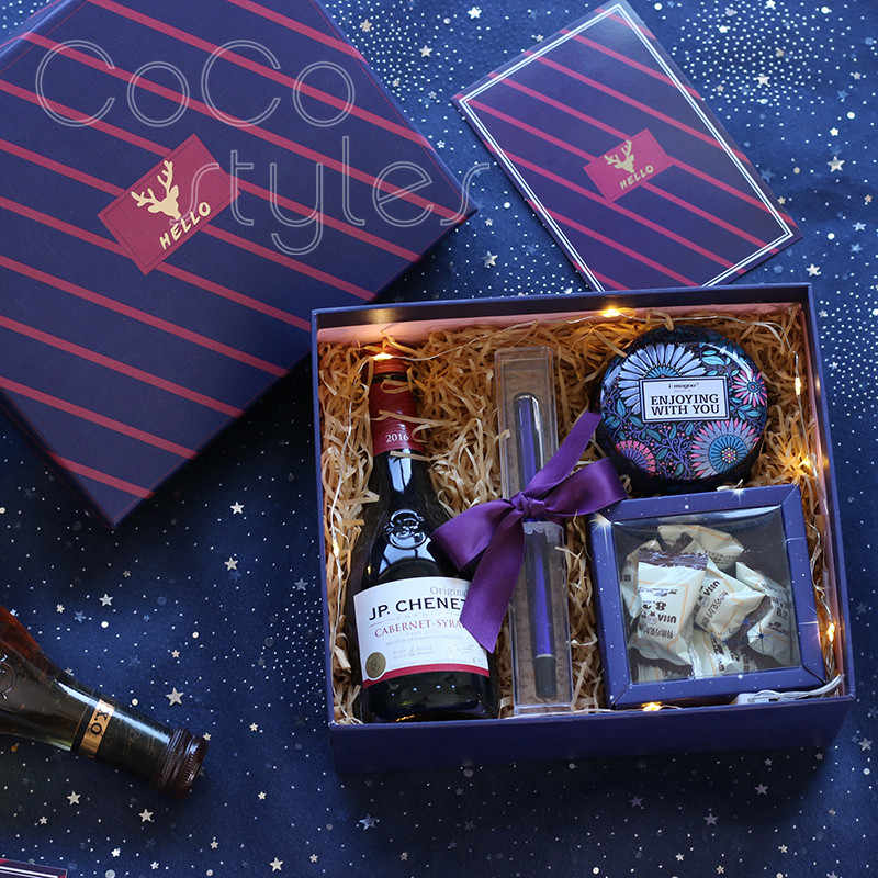 Cocostyles Premiumgenerous Purple Gift Box With Pen For Men Boyfriend Men Gift Set Valentine Gift Birthday Present Business Gift Aliexpress