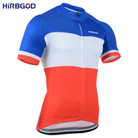 HIRBGOD XXS 6XL 2017 Plus Size Simple Design Bicycle Clohtes Cycling Maillot Blue White Red Short