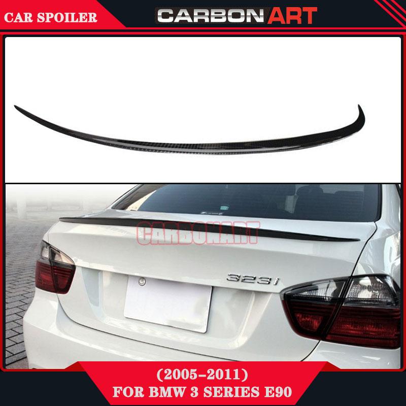 cabon fiber manufacturing M3 style racing wings gt spoiler for bmw 3 series sedan e90 e91 335i 330i 325i 320i 318i 2004-2011 спойлер bmw e90 318i 320i 325i 330i m3