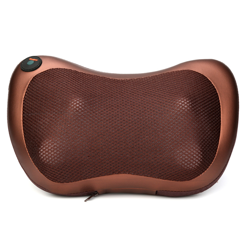 Relax Neck Shoulder Pain Back Heat Massage Pillow Shiatsu Deep Kneading Massager Futural Digital JULL12